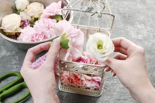 Bloemen na de uitvaart