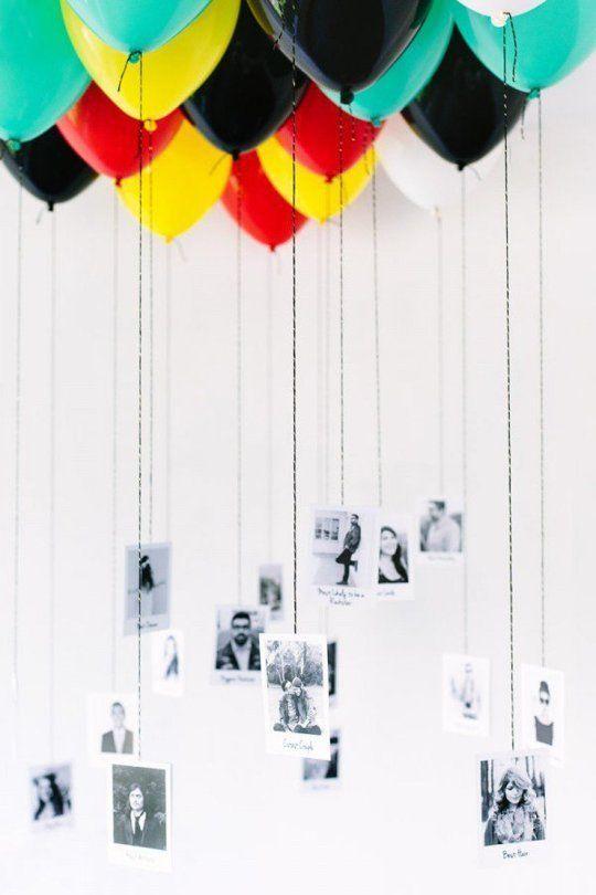 ballonnen met foto's