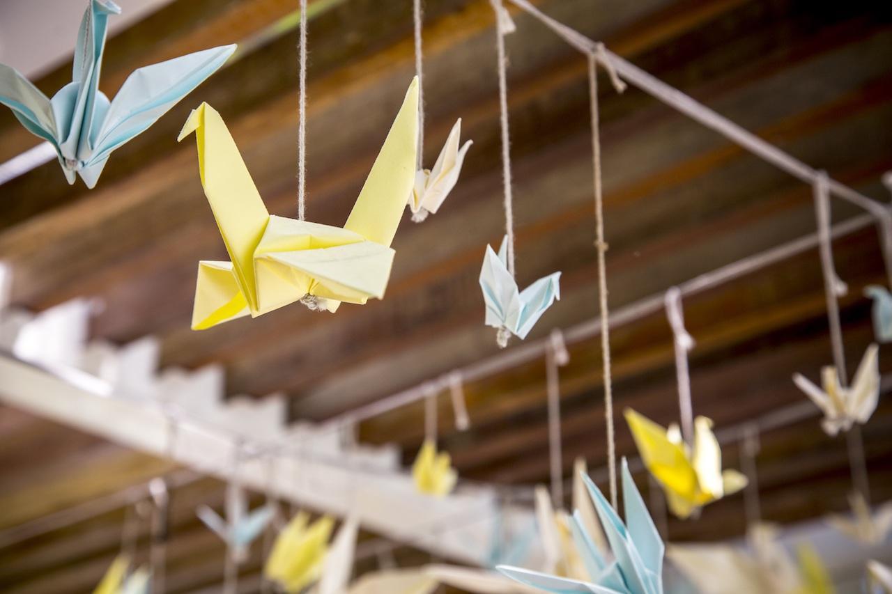 origami vogels
